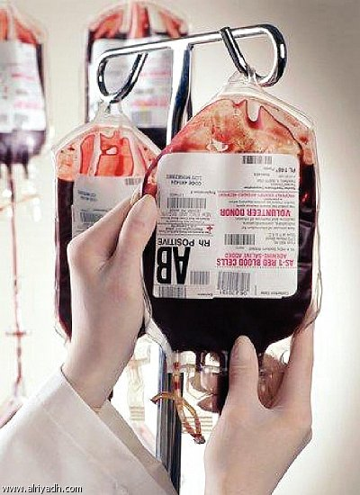 أعراض نقل الدم