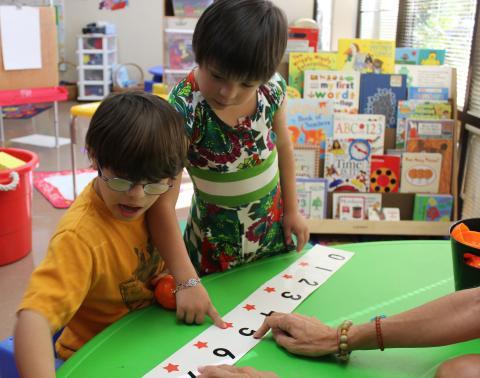 مهارات العد والحساب لأطفال متلازمة داون