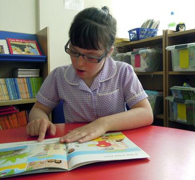 تنمية مهارة القراءة لأفراد متلازمة داون