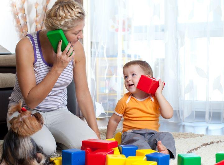 أنتِ أفضل لعبة لطفلك!