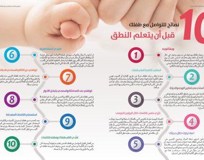 نصائح للتواصل مع طفلك قبل النطق