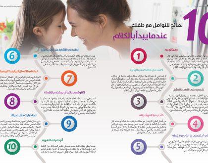 نصائح للتواصل مع طفلك عندما يبدأ بالكلام