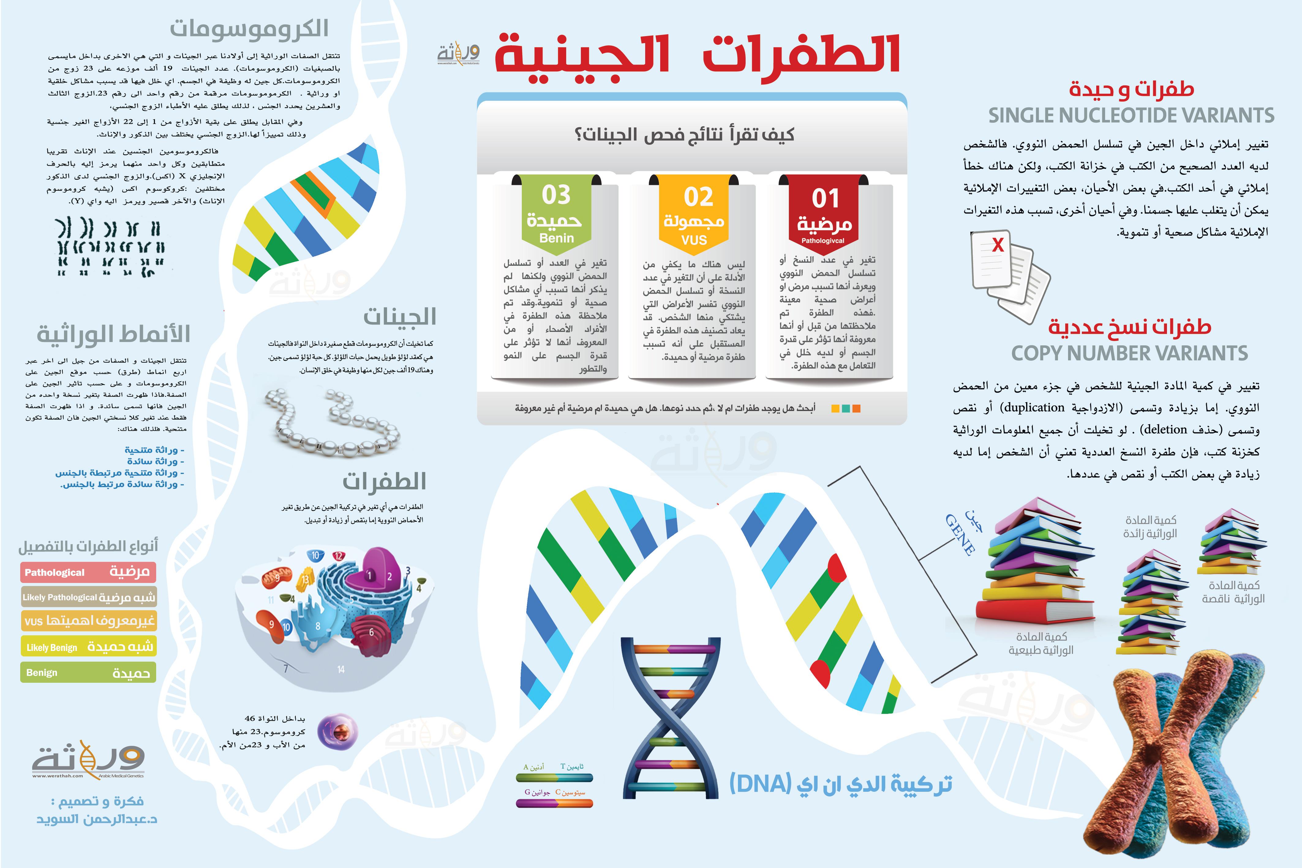 الطفرات الجينية